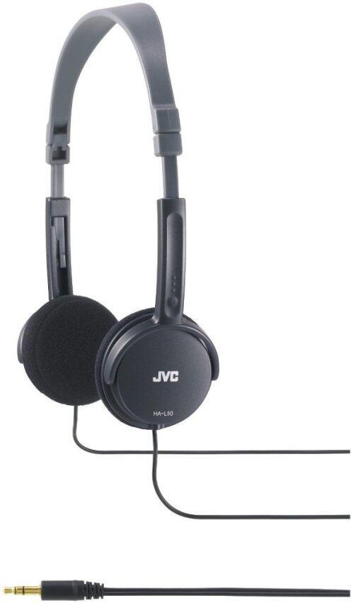 JVC หูฟัง รุ่น HA-L50 (Black) ประกันศูนย์ไทย