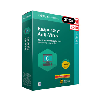 Kaspersky Anti Virus 2018 3 PC