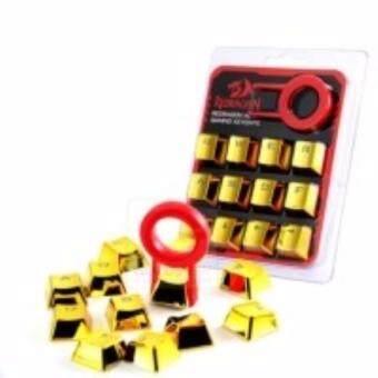 ซื้อ/ขาย Keycaps REDRAGON Mechanical Gaming Keycaps - (สีทอง) ไฟลอดผ่ายฟร้อน