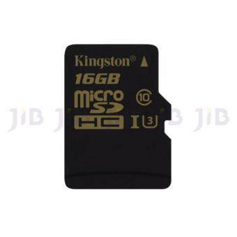 KINGSTON 16 GB. MICRO SD CARD CLASS 10 GOLD UHS-I U3 (SDCG/16GB)