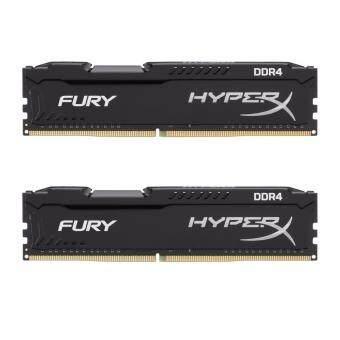 Kingston 8GB 2400MHz DDR4 CL15 DIMM HyperX FURY(Black) hx424c15fbk2/8