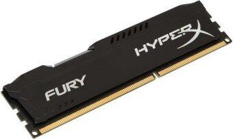 Kingston HyperX Fury DDR3 8GB/1600 (8GBx1) RAM PC Desktop (HX316C10FB/8) Black