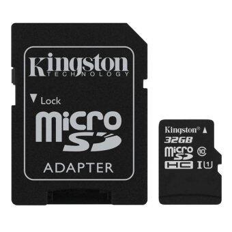 Kingston Memory Card Micro SD SDHC 32 GB Class 10 ของแท้แถมฟรีการ์ดตั้งโทรศัพท์และพันสายหูฟัง (image 2)