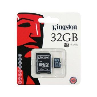 Kingston เมม Memory Micro SD Card Class 10 - 32GB with Adapter(GENUINE)