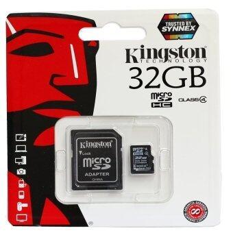 Kingston เมมโมรี่การ์ด Micro SDHC 32 GB Class 4