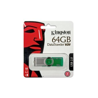 Kingston Portable Metal DT101 G2 64GB USB Flash Drive (Green)