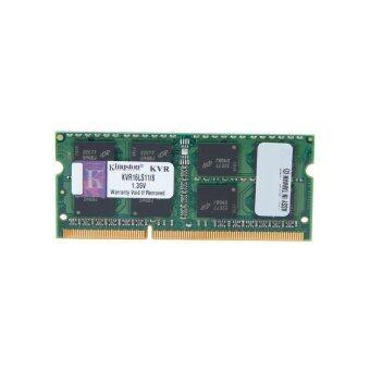 Kingston ValueRAM 8จิกะไบต์ 1600 เมกะเฮิรตซ์ DDR3L PC3-128001.35โวลต์ห้อง-ECC CL11 SODIMM ทรงจำพกพา KVR16LS11/8