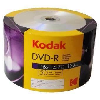 KODAK DVD-R 16X โกดัก ดีวีดี-อาร์ 16 เอ็กซ์ 50แผ่น (Pack12กล่อง)