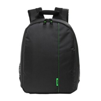 KUNPENG Waterproof DSLR Camera Lens Backpack Case Bag(Green/Black)- Intl - intl