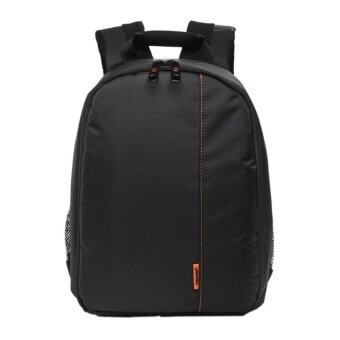KUNPENG Waterproof DSLR Camera Lens Backpack CaseBag(Orange/Black)- Intl - intl