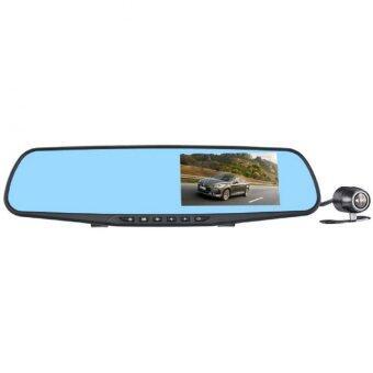 กล้องติดรถยนต์ กระจกกล้องหน้าหลัง รุ่น L854X