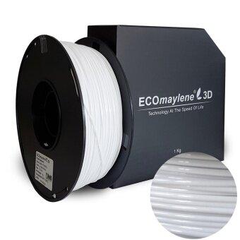 La Salle White - ECOmaylene3D PLA Filament 1.75mm (1 KG)