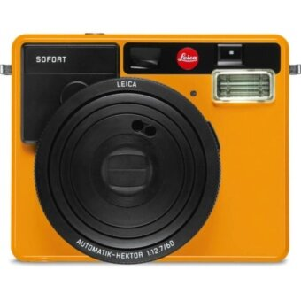 Leica Sofort Instant Film Camera (Orange) - intl