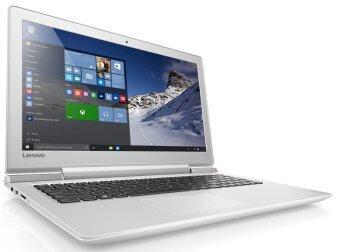 """ประเทศไทย LENOVO IDEAPAD 700-80RU0044TA i7-6700HQ 4GB DDR4 15.6"""" DOS (WHITE)"""