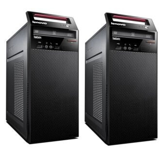 ประเทศไทย Lenovo PC ThinkCentre E 73 MT 10ASA0AUTA Intel Core i3-4160 4GB (Black)