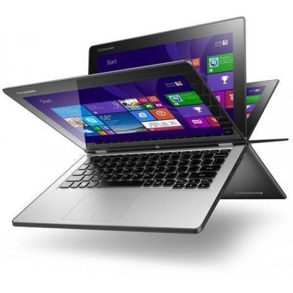 Lenovo Yoga 2 11.6' TouchScreen 2-in-1 Laptop PC - Intel Pentium N3520  4GB DDR3L  500GB HD  HD Webcam  WLAN 802.11bgn  Bluetooth 4.0  Windows 8.1 64-bit - intl