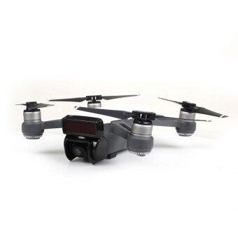 Lens Hood Gimbal Camera Protector 2 Color Cap Sunshade Cover forDJI Spark Drone - intl