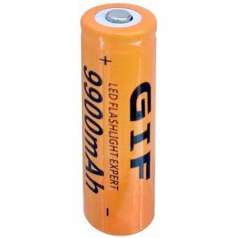 ถ่านชาร์จ Li-ion 18650 GTF 3.7V ความจุ 9900mAh (Orange)