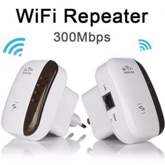 linxing Wifi Repeater 300M Range Extender Wireless Network Amplifier Mini AP Router Signal Booster Wireless-N 2.4GHz IEEE802.11N/G/B With Integrated Antennas RJ45 Port WPS Protection - intl