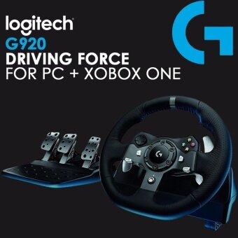 Logitech Driving FORCE G920 Racing ล้อ FORCE Feedback พวงมาลัย-PC + Xbox One Compatible
