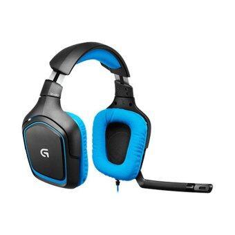 Logitech G430 Dolby 7.1 Surround Sound Gaming Headset (Black/Blue)