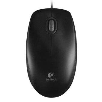 Logitech Mouse USB รุ่น LG-M100r (Dark)