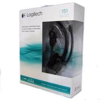 Logitech Stereo Headset รุ่น H151 Black (หูฟังสเตอริโอ พร้อมไมค์ สีดำ)ขนส่งโดย KERRY EXPRESS