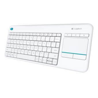 รีวิว Logitech Wireless Touch Keyboard K400 Plus (White-สีขาว) (TH/EN)