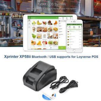 โปรแกรมขายหน้าร้าน Loyverse POS ด้วยเครื่องพิมพ์ XP-58 Bluetooth
