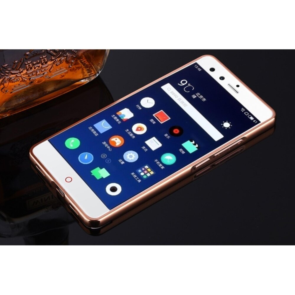 Noziroh Leeco Coolpad Cool 1 Silicon Cover 360 Flexible Frosted Source · Luxury Metal Frame And Mirror PC Back Cover Case For ZTE Nubia Z11
