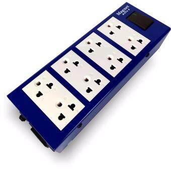 Magnet Hope 8 (Blue) ปลั๊กพ่วงจ่ายไฟคุณภาพสูง สีน้ำเงิน