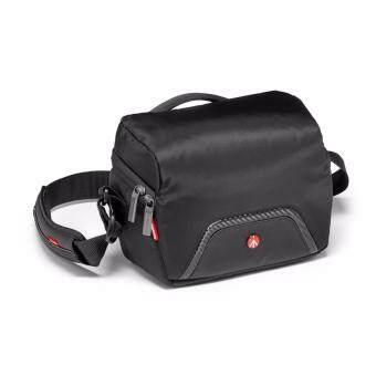 Manfrotto Advanced Camera Shoulder Bag Compact 1 for CSC rain cover MB MA-SB-C1 กระเป๋าสะพายไหล่สะพายข้างกล้องมิลเล่อร์เลสซีเอสซีหรือโดรนดีเจไอมาร์วิคโปรคอมโบ้คิท กระเป๋าสะพายไหล่ข้างกล้องMirrorless CSCหรือ Drone DJI mavic pro