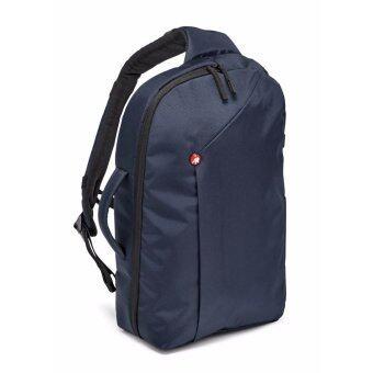 Manfrotto NX camera sling bag I Blue for CSCกระเป๋าสะพายไหล่เฉียงสะพายหลังเฉียงกล้องดีเอสแอลอาร์ซีเอสซีมิลเล่อร์เลสและคอมพิวเตอร์โน้ตบุ๊คแล็บท็อป13\กระเป๋าสะพายไหล่เฉียงสะพายหลังเฉียงกล้องDSLR CSC MirrorlessและComputer notebook laptop13\