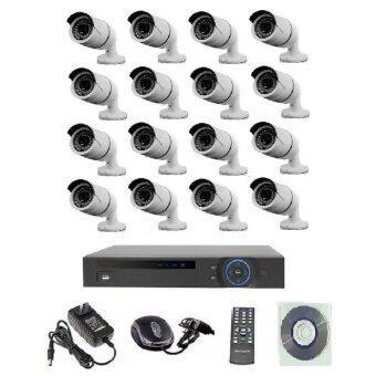 ประกาศขาย Mastersat ชุดกล้องวงจรปิด CCTV IP Camera 1 MP 16 จุด ระบบ NVR 15V. (ต้องใช้ POE Switch) เดินสายแลนอย่างเดียว ใช้ได้ไกล 100 เมตร