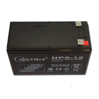 MATRIX แบตเตอรี่แห้ง MATRIX 12V 9Ah (Black) - 3