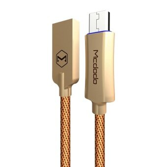 ... Sync Cable with Flashlight 1M - intl ล่าสุด. MCDODO CA - 289 Knight Series QC 3.0 Micro USB 3A Fast Charging Auto Disconnection Data ...