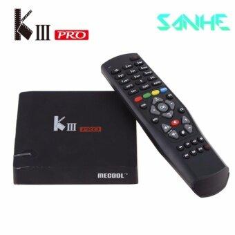 MECOOL KIII pro DVB S2 + T2 3GB / 16GB Octa Core Android 6.0 Smart Hybrid TV Box Amlogic S912 4K Media Player - intl