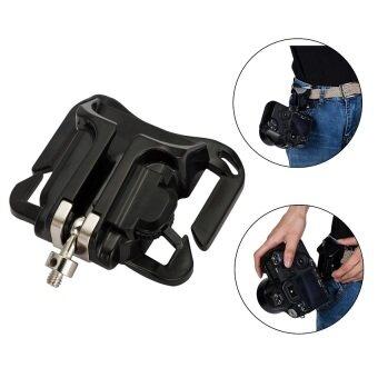 สนใจซื้อ เข็มขัดรัดเอวแบบซอง Meking งอไม้แขวนเสื้อกระเป๋าถือสำหรับกล้องDSLR-