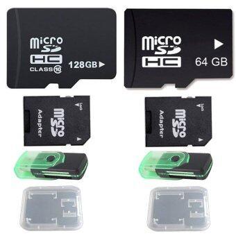 ราคา Micro SD 128GB + 64GB Class 10 พร้อมอุปกรณ์เสริม