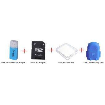 Micro SD 64 gb Class 10 แถมฟรีUSB 2.0 Card Reader + USB Micro SD Adapter + SD/Micro SD Case Box + OTG (image 2)