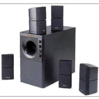 MICROLAB รุ่น X3/5.1 ลำโพง 5.1 พร้อมซัฟวูฟเฟอร์- สีดำ ประกันศูนย์