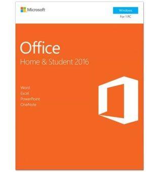 เสนอราคา MICROSOFT OFFICE HOME & STUDENT 2016 (1 USER)
