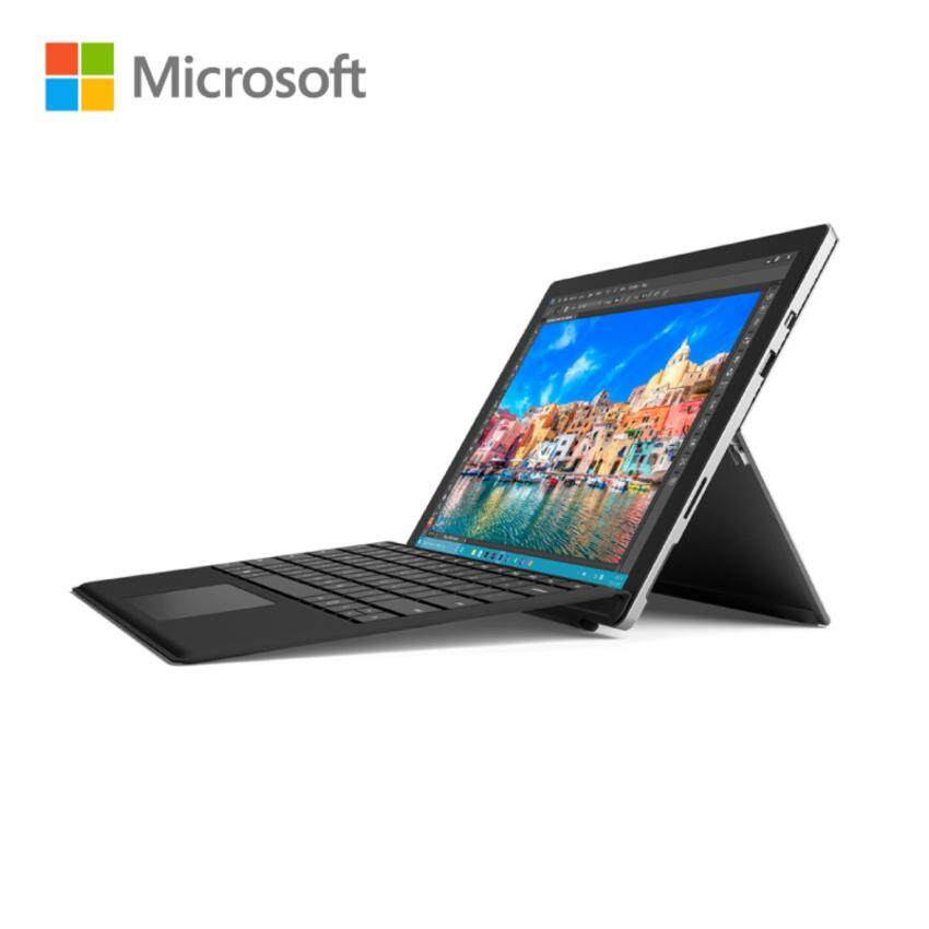 Microsoft Surface Pro 4 Laptop i5-128GB/4GB (NoPen) Bundle Type Cover for Surface Pro 4 Black