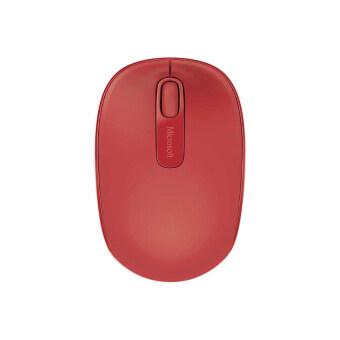 Microsoft เมาส์ไร้สาย รุ่น WMM 1850 Win7/8 (สี Flame Red V2)