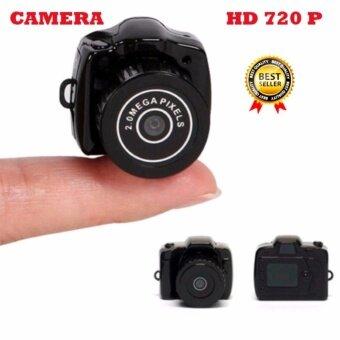 กล้องจิ๋ว กล้องสายลับแอบถ่าย บันทึกวีดีโอ ถ่ายภาพนิ่ง Mini 720 HDDV Camera Y2000