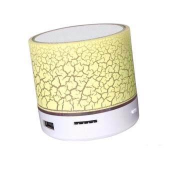 Mini Bluetooth Speaker Build-in Microphone S10U (Yellow)