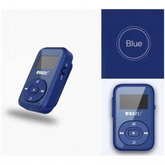 MINI Original RUIZU X26 คลิปบลูทูธ MP3 Player 8 กิกะไบต์กีฬา Bluetooth Mp3 เครื่องเล่นเพลงเครื่องบันทึกวิทยุ FM 1.1 นิ้วสนับสนุน SD การ์ด