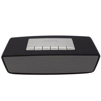 Mini Speaker รุ่น S2025 ลำโพงบลูทูธ Bluetooth เสียงดี เบสดังแน่น (สีดำ)