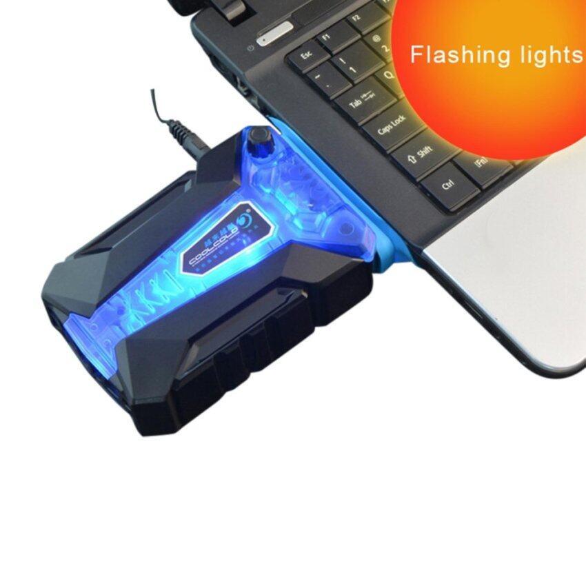 MIni USB Laptop Base Cooling Induced Pad Cooler Radiator for Notebook Laptop Computer - intl