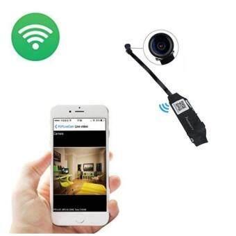Mini Wifi P2P กล้องวงจรปิดจิ๋ว WIFI ไร้สาย 720P HD Security Hidden Camera Motion Detective